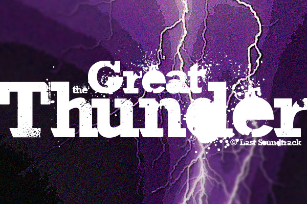 Illustration for The Great Thunder font