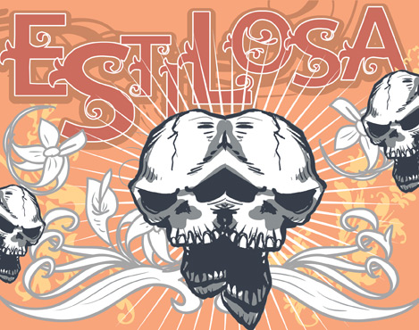 Illustration for VTKS Estilosa font
