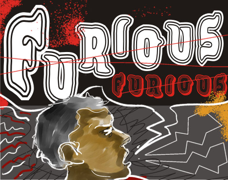 Illustration for VTKS Furious font