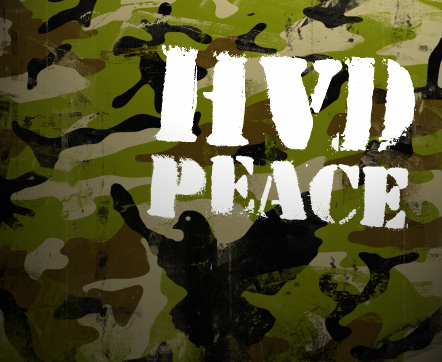 Illustration for HVD Peace font