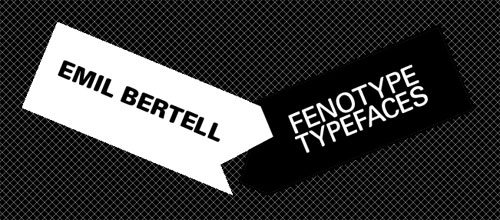 Fenotype fonts